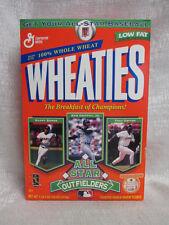 Bonds Griffey Jr Gwynn All Star Outfielders Wheaties Never Been Open Cereal Box