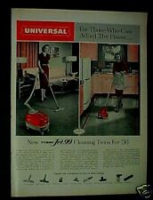 1956 Universal Vacuum Sweeper Household Appliance AD