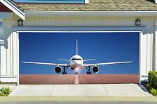 Garage Mural Plane Aircraft Airplane 3D Effect Garage Door Cover Billboard GD84