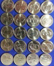 2007 2008 2009 2010 2011 D Presidential Dollars 20 Coin Set Denver Mint