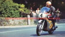 Mike HAILWOOD Pilote HONDA 4 Grand Prix Fiche Moto #005115