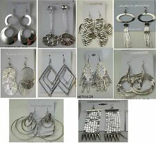 fashion jewelry lot10 pairs Dangle Silver Plated  Earrings  wholesale lot #5432