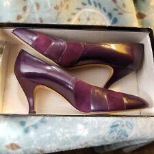 Vintage Liz Claiborne Amethyst Classic Heels Size 8 1/2 N in box - Never Worn!
