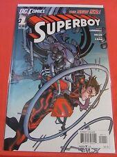 SUPERBOY #1 - NEW 52 - Regular cvr - bagged & boarded.! (2011)