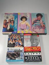 VHS Lot- Exercise Videos: Billy Blanks, Tony Little, Rita Moreno,