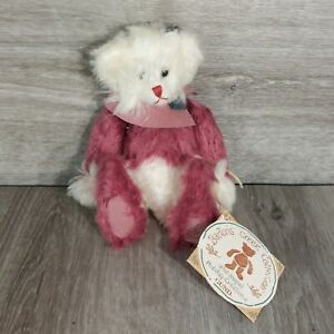 """2001 Barton's Creek Collection Gund """"Holly"""" Bear Fully Jointed Holiday Creations"""