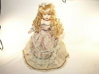 Victorian Rose Collection - Porcelain Doll in Beautiful Dress - 1997 Limited Ed