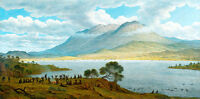 Mount Wellington and Hobart Town by John Glover A1 High Quality Art Print