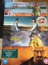 Breaking Bad - Season 1-4 [DVD] - DVD Box Set  (18) Fast Free Uk Delivery  Post