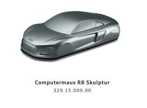 Original Audi Computermaus R8 Skulptur / Laser-Sensor