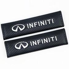2PCS INFINITI Car Seat Belt Cover Pads Shoulder Cushion For INFINITI G35 G37