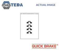QUICK BRAKE FRONT BRAKE PADS FITTING KIT SHIMS 109-1211 P NEW OE REPLACEMENT