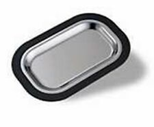 """Service Ideas Ot11Ss Thermo Plate Insert, Brushed Stainless Steel, 11"""""""