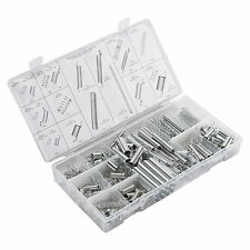200PC Assorted Box of Expansion Springs Extension Tension Spring Set Taught
