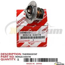TOYOTA FACTORY OEM 90916-03078 NEW ENGINE COOLANT WATER THERMOSTAT 9091603078