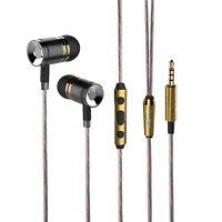 Earphones Headphones, High Definition, HD50MV Noise Isolating, Heavy Deep Bass