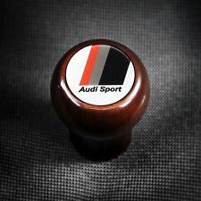 Audi Sport Wood Shift Knob S2 A3 A6 S6 C4 C5 A4 S4 B5 A8 D2 V8 100 200 Typ 85 89