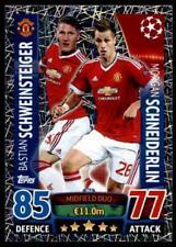 Match Attax Champions League 15/16 Schweinsteiger / Schneiderlin Man Utd No. 342