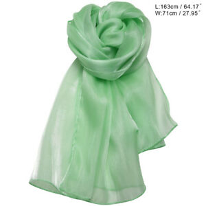 Silky Iridescent Wrap Stoles Shawl For Weddings Bridal Evening Wear Prom Parties