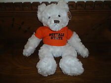 "Chelsea Teddy Bear Co. BUFFALO STATE College DEXTER 14"" Licensed Product 2004"