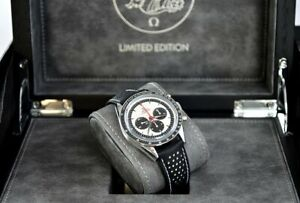 OMEGA Speedmaster Limited Edition Pulsometer First In Space FOIS CK2998 White