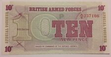 10 ten new pence British armed forces