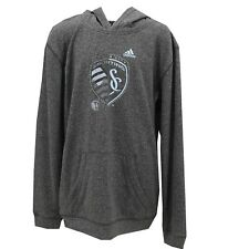 MLS Official Adidas Sporting Kansas City Kids Youth Sweatshirt New With Tags