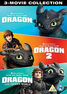 HOW TO TRAIN YOUR DRAGON 1 3 [DVD][Region 2]