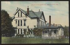 Postcard GROVE CITY Pennsylvania/PA  Local Town Area Hospital view 1907