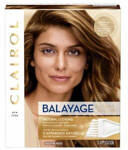 Clairol Nice'n Easy Balayage Permanent Hair Color Brunettes Kit 1 Application