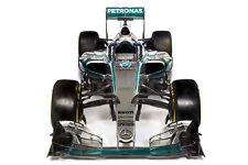 MERCEDES BENZ W06 FORMULA 1 F1 RACE CAR POSTER PRINT STYLE C 36x54 9MIL PAPER