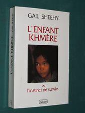 L'enfant Khmère Gail SHEEHY