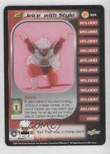 2001 Dragonball Z TCG - Trunks Saga Booster Pack Base #104 Jeice with Style 1d1