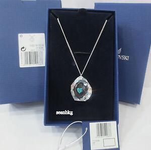 Swarovski Neon Heart Pendant Faith Love Mint Green Crystal Authentic MIB 1119266