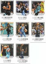 2018 Rittenhouse Wnba Basketball Atlanta Dream Team Set - 8 Cards - New Mint!