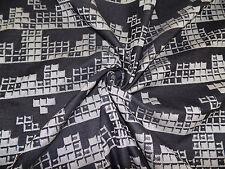 Stoff -Tetris Game - Meterware Fb. Schwarz/Weiß || für Babytragetücher