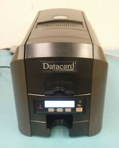 Datacard PX30 CD800 ID Card Thermal Printer w/ Power Supply