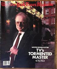 New York Times Magazine 1988 Dennis Potter Robert Trent Jones Lisa Fallon Ilonka