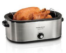 Hamilton Beach 28 Lb Turkey Roaster 22 Quart Oven | Model 32229R
