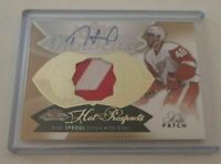 RYAN SPROUL - 2014/15 HOT PROSPECTS - ROOKIE AUTOGRAPH PATCH - #312/375 -