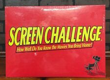 1991 Cadaco SEALED Screen Challenge How Well Do You Know Board Game  Stock 681