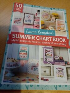 Emma Congdon summer Chart Book Cross Stitch Booklet sayings quotes