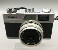 Canon Canonet 28 35mm Rangefinder Film Camera For Parts or Repair F05
