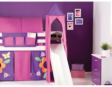 PINK AND PURPLE TOWER FOR CHILDS MIDSLEEPER OR BUNK BED