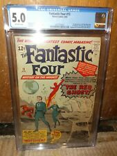 Marvel comics Fantastic Four CGC 5.0 13 1st Appearance Red Ghost Watcher