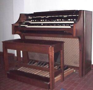 Organo HAMMOND H-100 elettromeccanico a valvole in ottime condizioni vintage