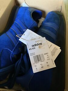 ADIDAS ORIGINALS MENS AS 520 TRAINERS LIMITED STOCK BLUE SIZE  9.5