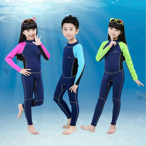 2mm Neoprene Professional Scuba Diving Suit for Children Surf Swim Kids Wetsuit