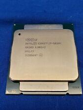 Intel Core i7-5820k 3.30GHz CPU SR20S 6-Core Processor  #4193 1T