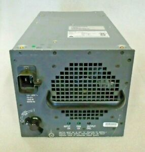 CISCO WS-CAC-1300W POWER SUPPLY FOR CAT 6000 CHASSIS.